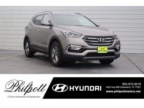 Mineral Gray 2018 Hyundai Santa Fe Sport