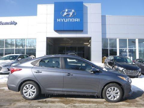 Urban Gray 2018 Hyundai Accent SE