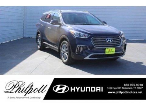 Storm Blue 2018 Hyundai Santa Fe SE
