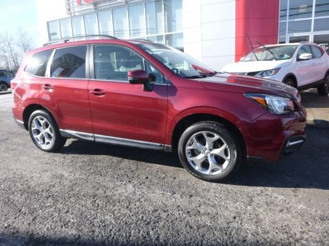 Venetian Red Pearl 2017 Subaru Forester 2.5i Touring