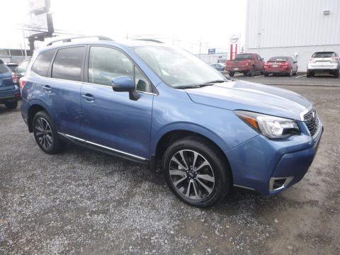 Quartz Blue Pearl 2018 Subaru Forester 2.0XT Touring