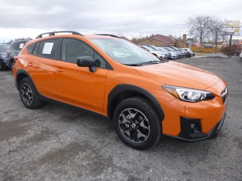 Sunshine Orange 2018 Subaru Crosstrek 2.0i