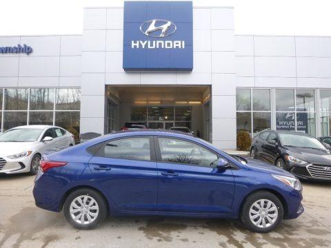 Admiral Blue 2018 Hyundai Accent SE