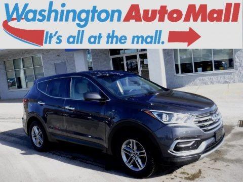 Mineral Gray 2017 Hyundai Santa Fe Sport AWD