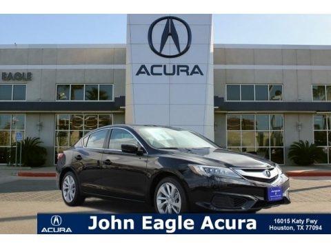 Crystal Black Pearl 2018 Acura ILX Acurawatch Plus
