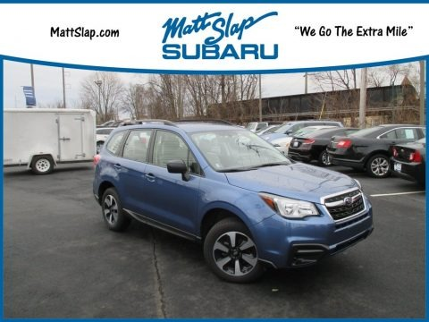 Quartz Blue Pearl 2017 Subaru Forester 2.5i