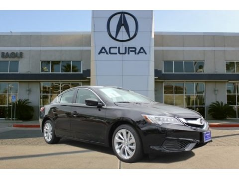 Crystal Black Pearl 2017 Acura ILX Technology Plus A-Spec