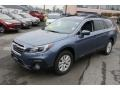 Subaru Outback 2.5i Premium Twilight Blue Metallic photo #3