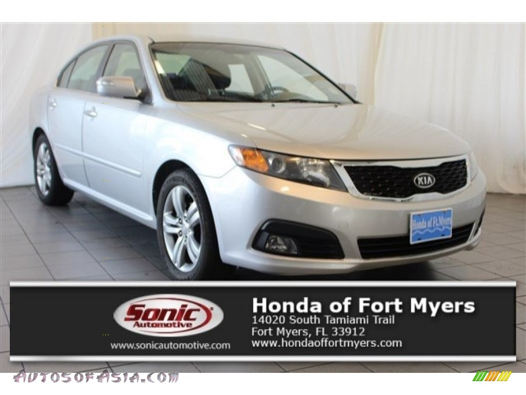 Bright Silver / Gray Kia Optima SX V6
