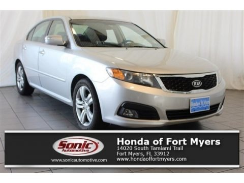 Bright Silver 2009 Kia Optima SX V6