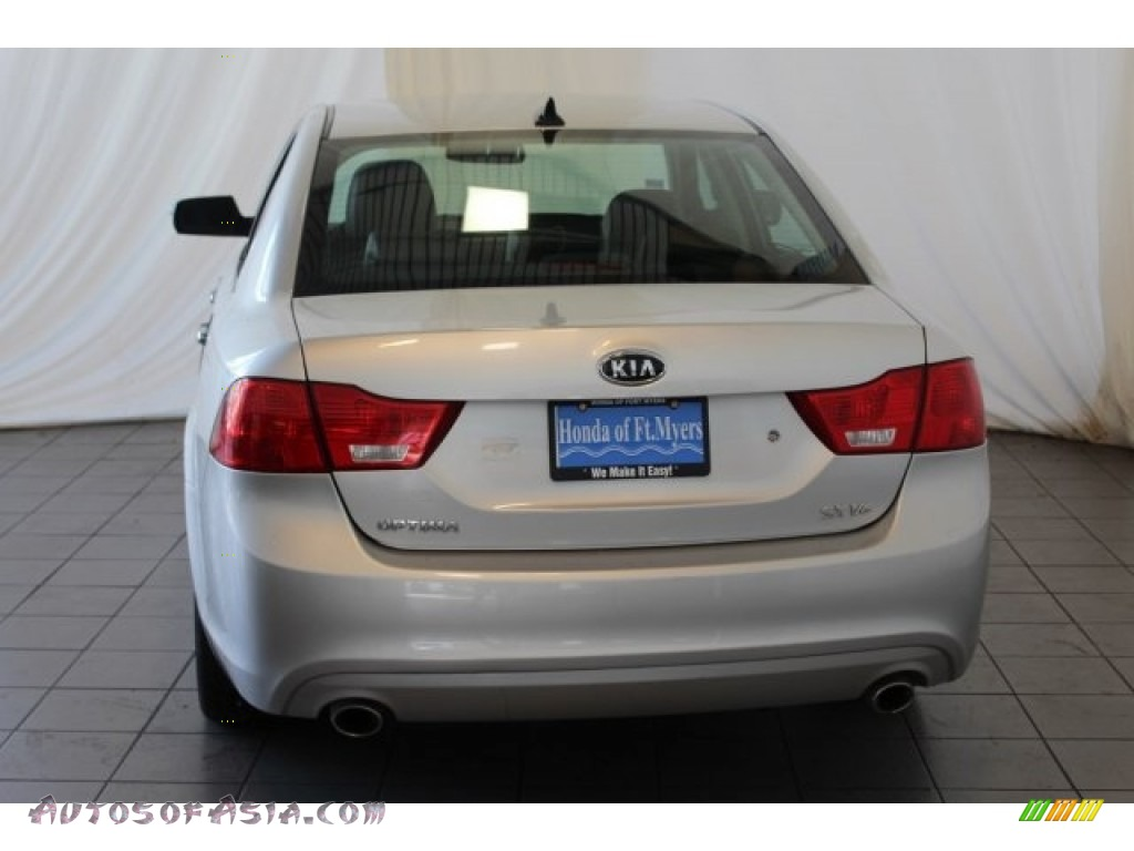 2009 Optima SX V6 - Bright Silver / Gray photo #7