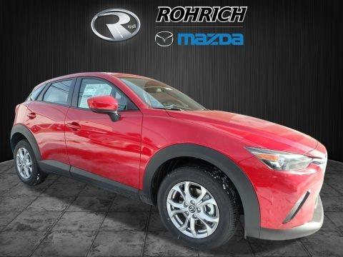 Soul Red Metallic 2018 Mazda CX-3 Sport AWD