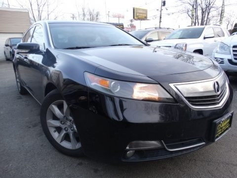 Crystal Black Pearl 2012 Acura TL 3.5 Technology