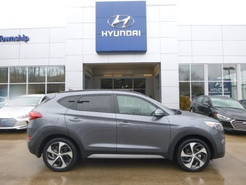 Coliseum Gray 2018 Hyundai Tucson Limited AWD