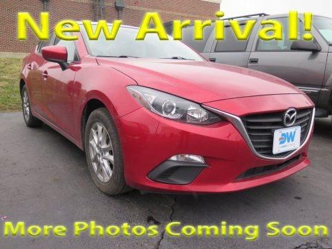 Soul Red Metallic 2014 Mazda MAZDA3 i Touring 4 Door