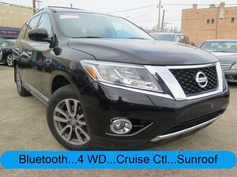 Super Black 2013 Nissan Pathfinder SL 4x4