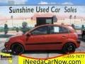 Kia Rio Rio5 SX Hatchback Sunset Orange photo #1