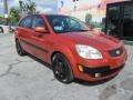 Kia Rio Rio5 SX Hatchback Sunset Orange photo #5