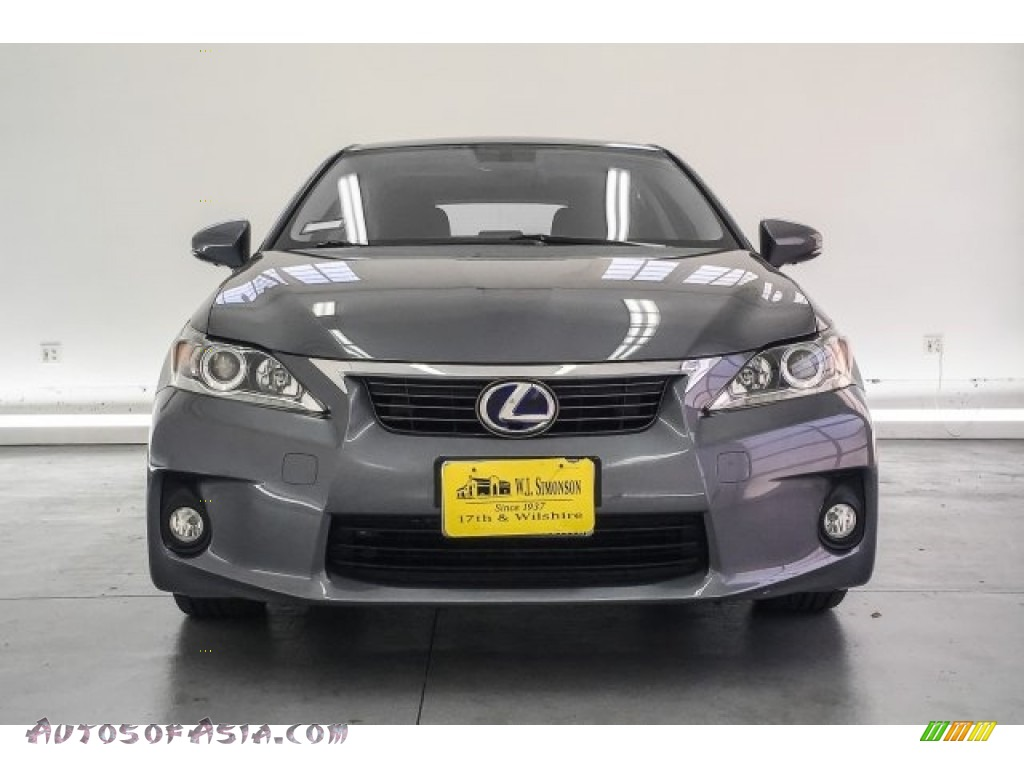 2013 CT 200h Hybrid - Nebula Gray Pearl / Black photo #2
