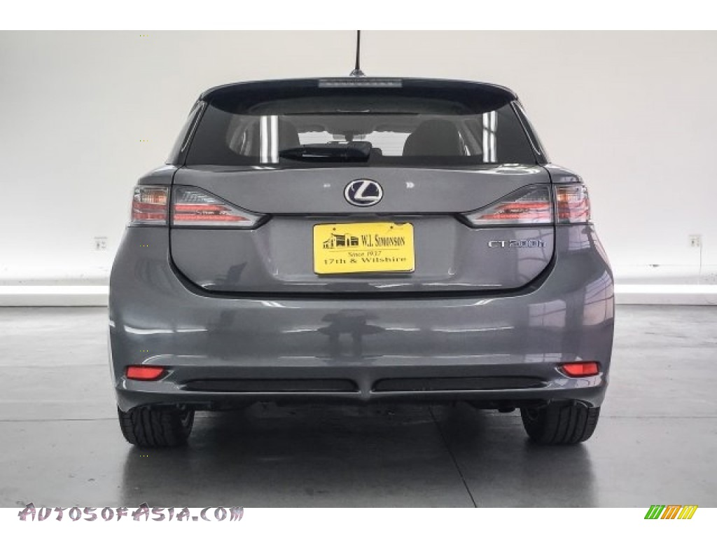 2013 CT 200h Hybrid - Nebula Gray Pearl / Black photo #3