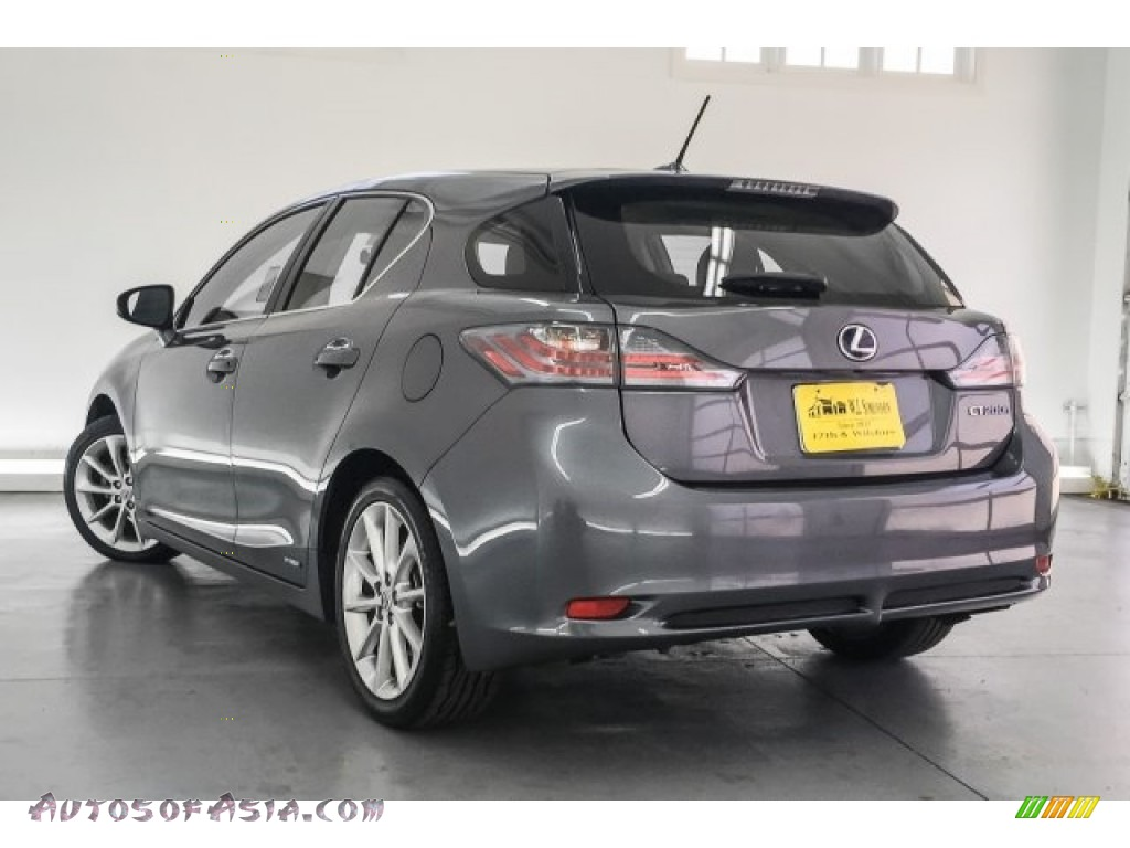 2013 CT 200h Hybrid - Nebula Gray Pearl / Black photo #10