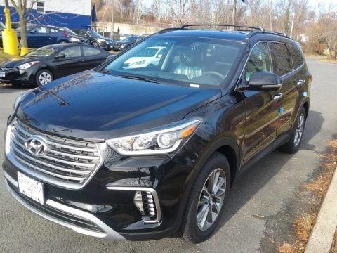 Becketts Black 2018 Hyundai Santa Fe SE AWD