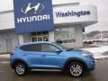 Hyundai Tucson SE AWD Caribbean Blue photo #2