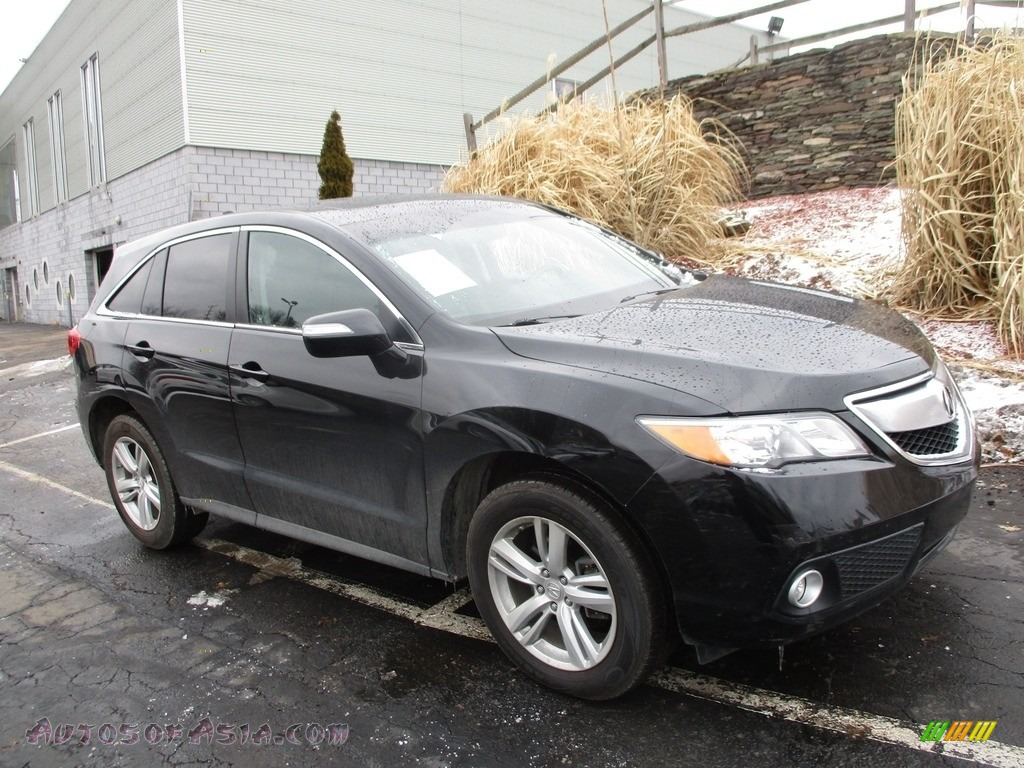 2013 RDX Technology AWD - Crystal Black Pearl / Ebony photo #1