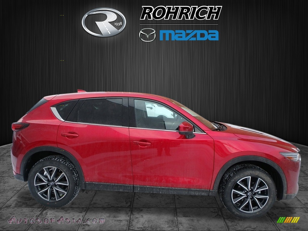 2018 CX-5 Grand Touring AWD - Soul Red Crystal Metallic / Black photo #2