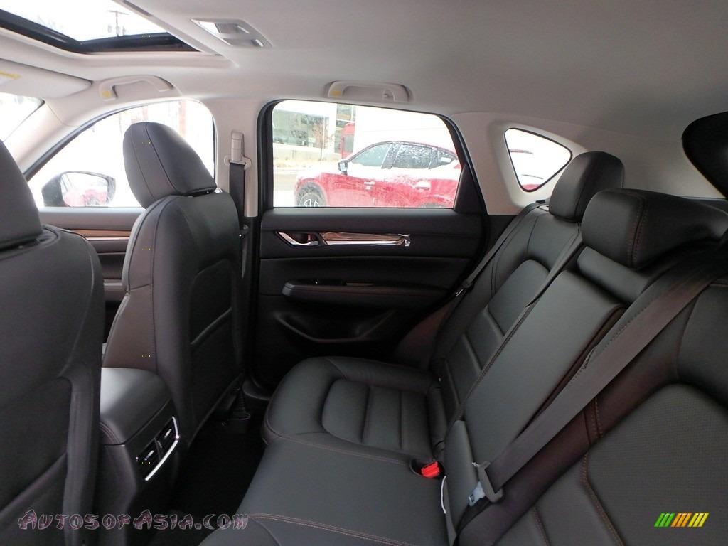 2018 CX-5 Grand Touring AWD - Soul Red Crystal Metallic / Black photo #8