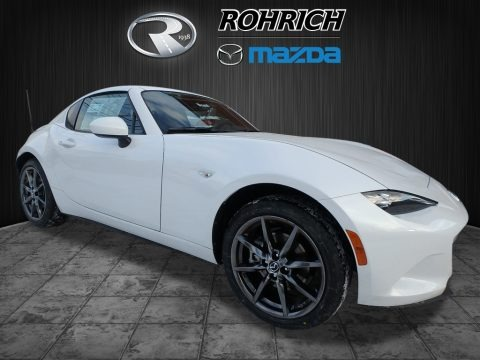 Arctic White 2018 Mazda MX-5 Miata RF Grand Touring