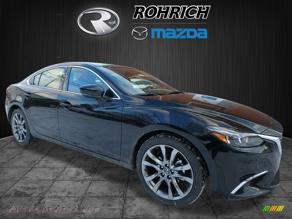 2017 Mazda6 Grand Touring - Jet Black Mica / Black photo #1