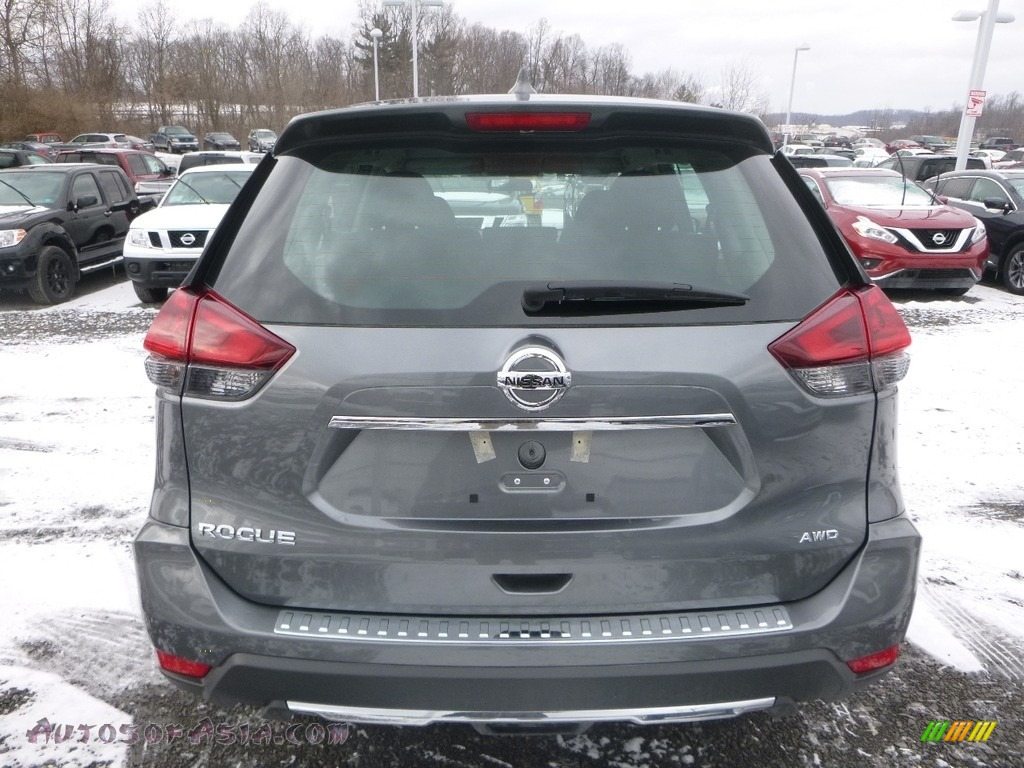 2018 Rogue S AWD - Gun Metallic / Charcoal photo #5
