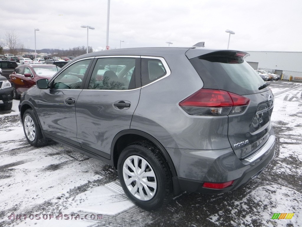 2018 Rogue S AWD - Gun Metallic / Charcoal photo #6