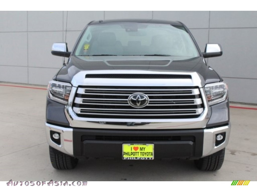 2018 Tundra Limited CrewMax - Magnetic Gray Metallic / Graphite photo #2