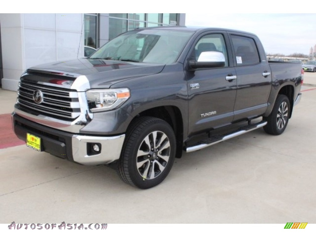 2018 Tundra Limited CrewMax - Magnetic Gray Metallic / Graphite photo #3