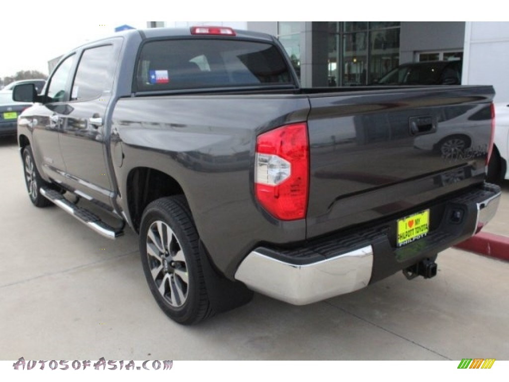 2018 Tundra Limited CrewMax - Magnetic Gray Metallic / Graphite photo #6