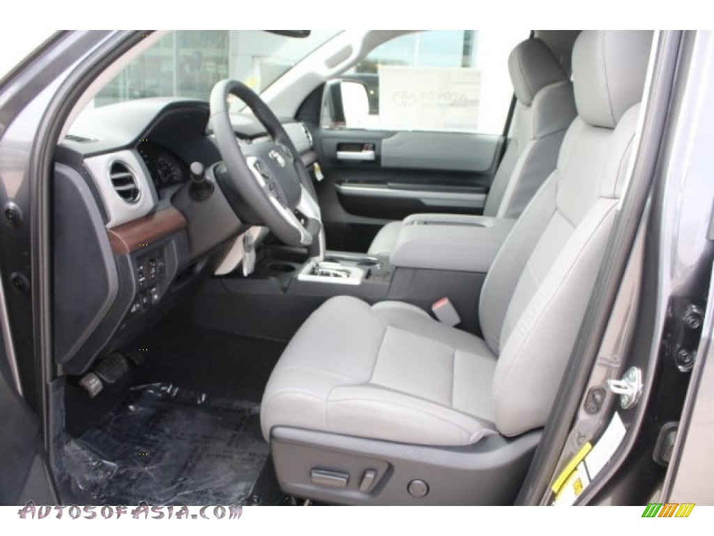 2018 Tundra Limited CrewMax - Magnetic Gray Metallic / Graphite photo #14
