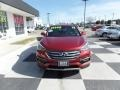 Hyundai Santa Fe Sport FWD Serrano Red photo #2
