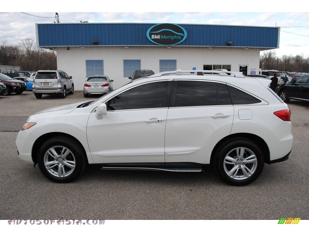 2015 RDX Technology - White Diamond Pearl / Parchment photo #2