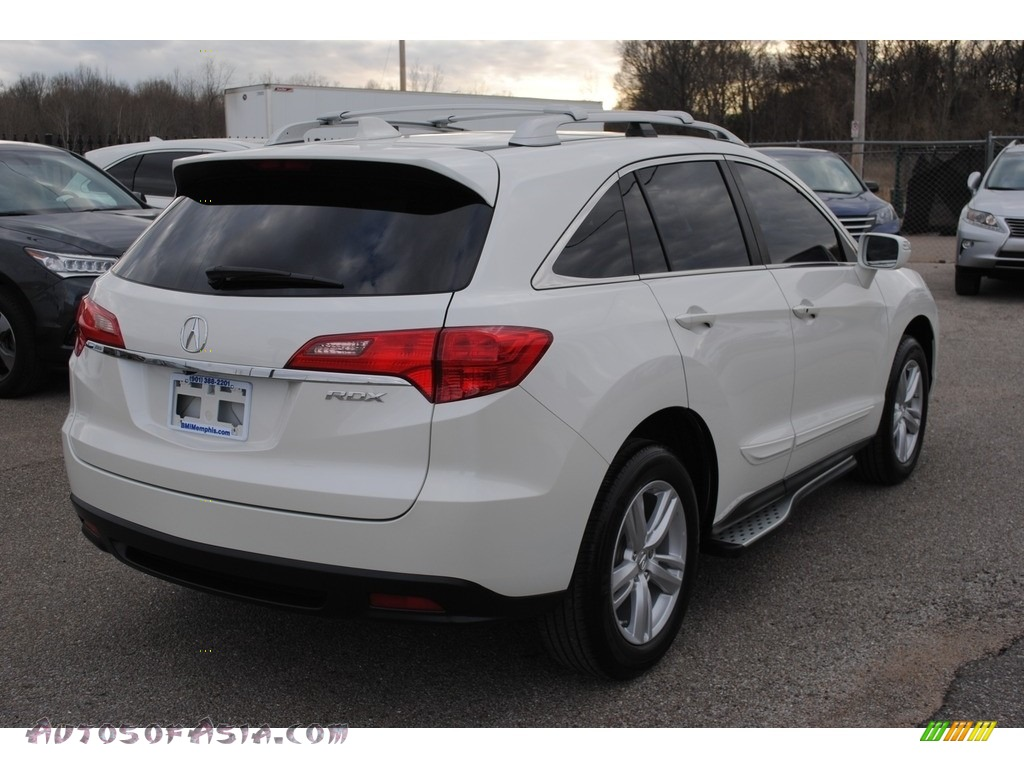 2015 RDX Technology - White Diamond Pearl / Parchment photo #5