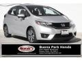 Honda Fit EX-L Alabaster Silver Metallic photo #1