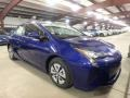 Toyota Prius Three Blue Crush Metallic photo #1