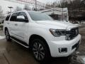 Toyota Sequoia Limited 4x4 Blizzard White Pearl photo #1