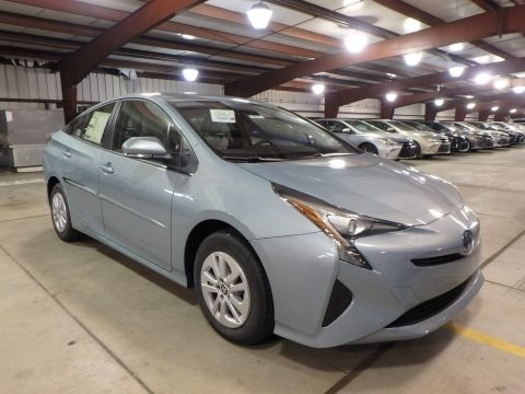 Sea Glass Pearl 2018 Toyota Prius One