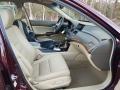 Honda Accord EX-L V6 Sedan Basque Red Pearl photo #9