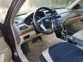 Honda Accord EX-L V6 Sedan Basque Red Pearl photo #20