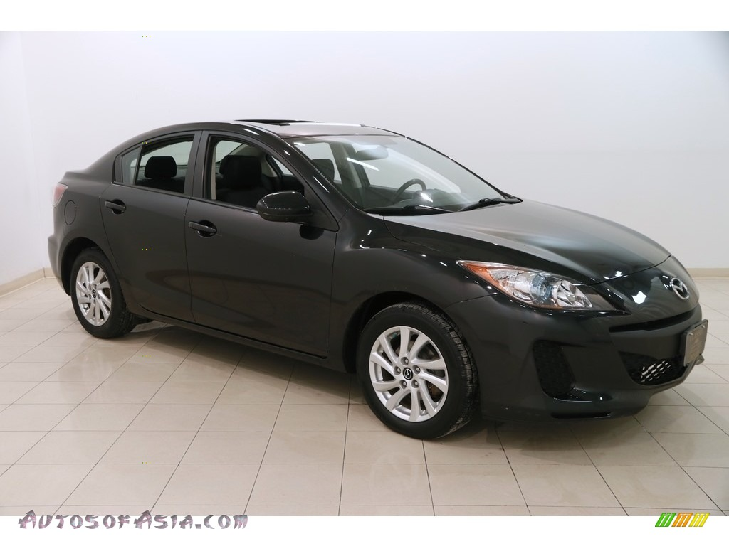 2013 MAZDA3 i Touring 4 Door - Black Mica / Black photo #1