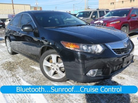 Crystal Black Pearl 2013 Acura TSX Technology
