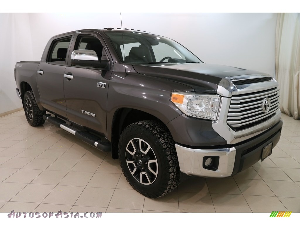 Magnetic Gray Metallic / Black Toyota Tundra Limited CrewMax 4x4